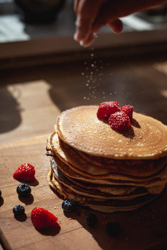 Kratom protein pancakes.